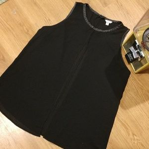 GUESS Open Front Blouse
